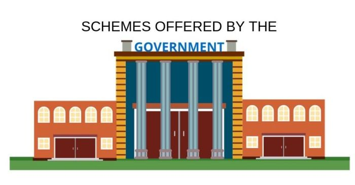 Schemes Offered By The Government