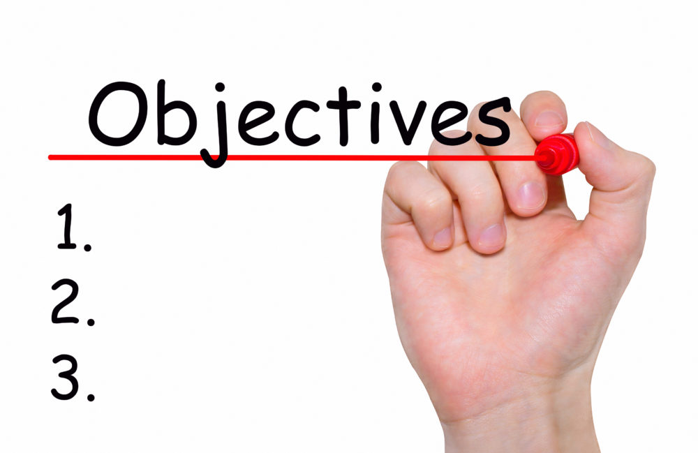 Objectives for Long-Term